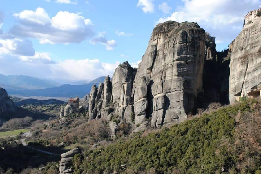 Meteora, near the town of Kalambaka
